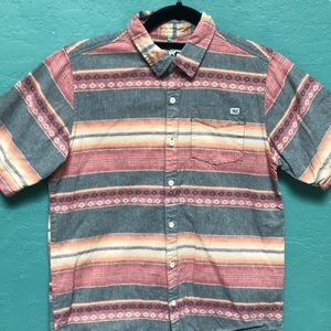 Lost Button Down Sunset Shirt!! Large (10-12)